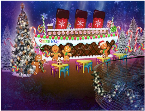 Image result for queen mary christmas